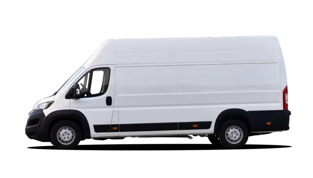 Moving quote Medium Van